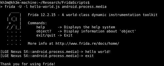 Extracting Bluetooth Metadata in an Object's Memory Using Frida